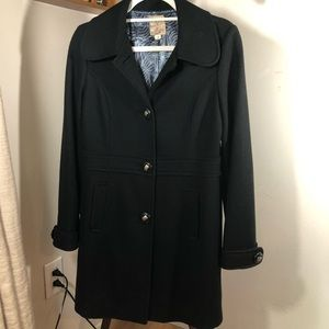 Tulle   Wool Blend Walking Coat